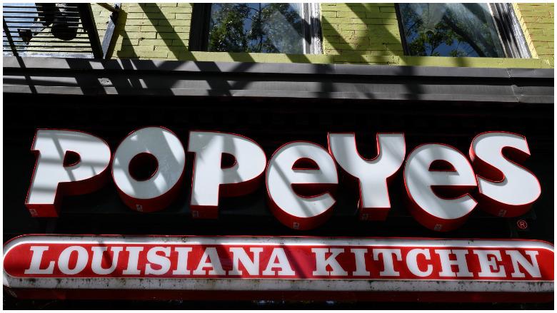 popeye's chicken sandwich death