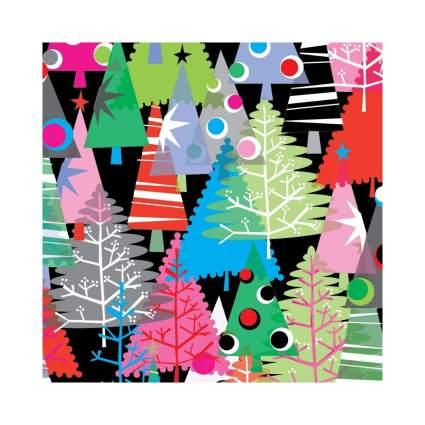 Premium Gift Wrap Neon Trees Gift Wrap