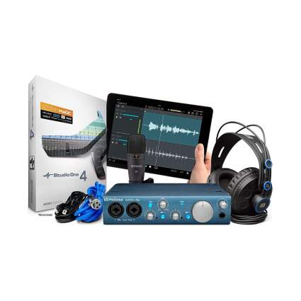 Presonus AudioBox iTwo USB 2.0 Recording Bundle