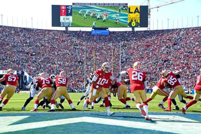 Rams 49ers