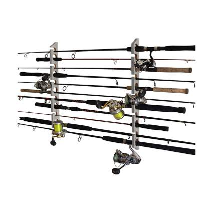 rush creek creations fishing rod rack