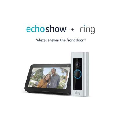 Save $160 On Ring Video Doorbell Pro with Free Echo Show 5