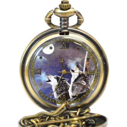 Wolf Pocket Watch