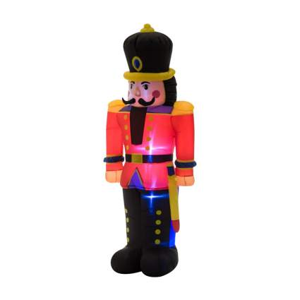 six foot inflatable nutcracker