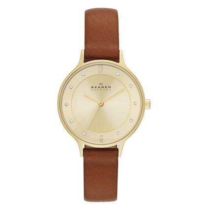 minimalist women's watch