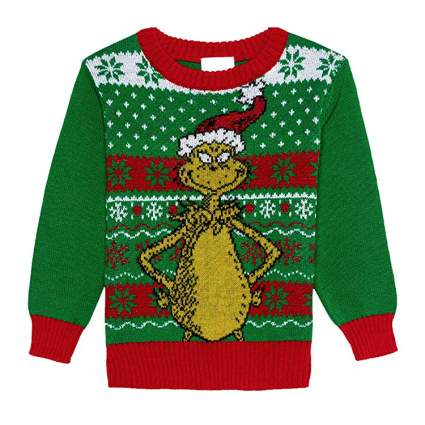 The Grinch Kids Ugly Christmas Sweater