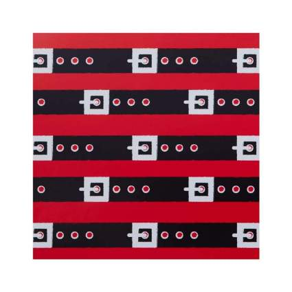 The Gift Wrap Company Santa's Belt Design Christmas Wrapping Paper