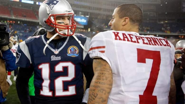 Tom Brady, Colin Kaepernick