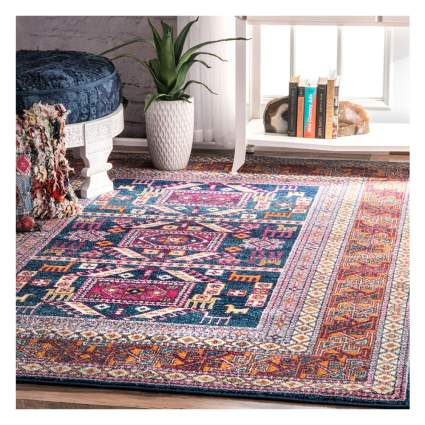 tribal print area rug