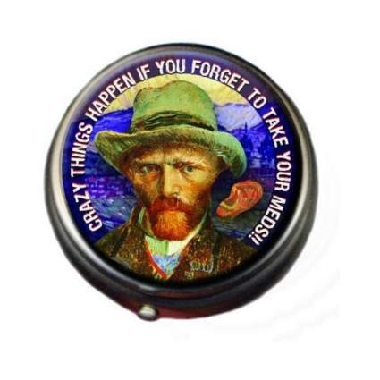 The Unemployed Philosophers Guild Van Gogh Pill Box