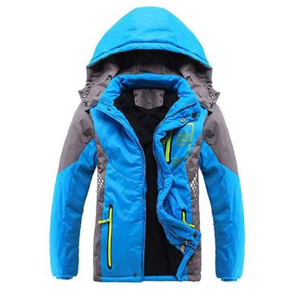 Valentina Boys Thicken Fleece Hooded Jacket