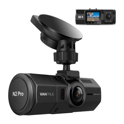 Black Vantrue dash camera