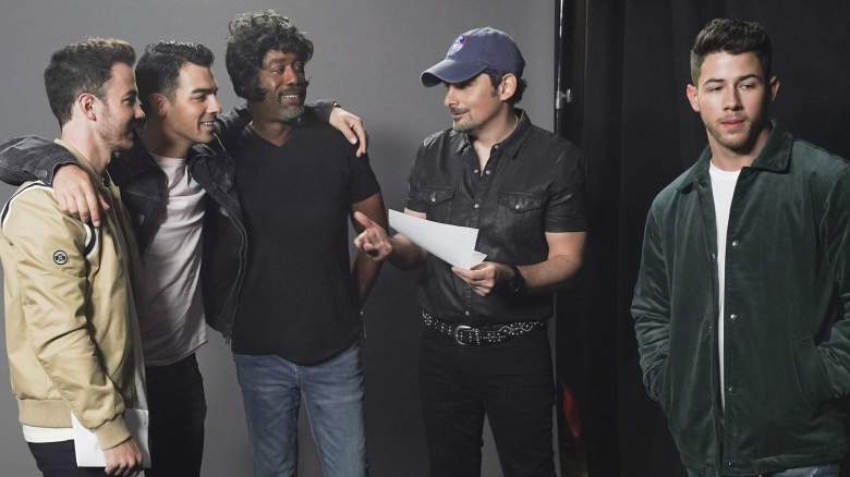 Brad Paisley and the Jonas Brothers
