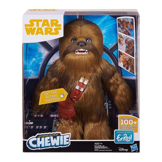 Chewbacca plush doll from Star Wars