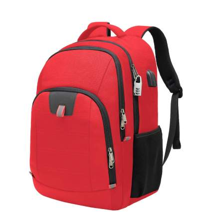 backpack with lock