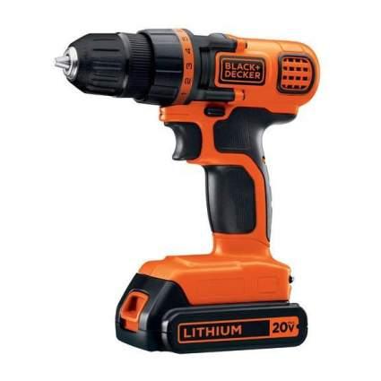 Orange Black & Decker drill