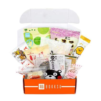 Japanese candy and snack box