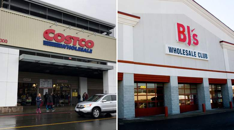 Costco BJ's Wholesale