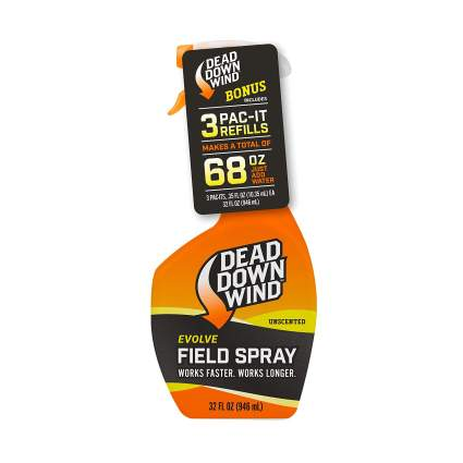 Dead Down Wind Evolve Field Spray – 12oz Bottle & Pac-It Refill