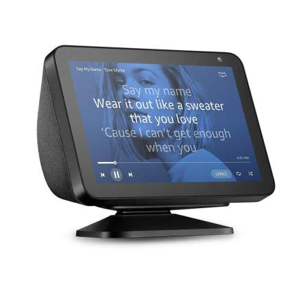 Amazon Echo Show 8 screen with stand