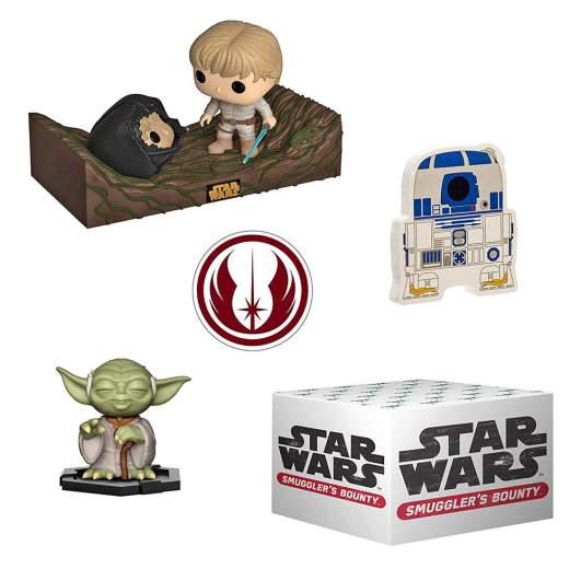 Star Wars toys in Funko Smuggler's Bounty Box