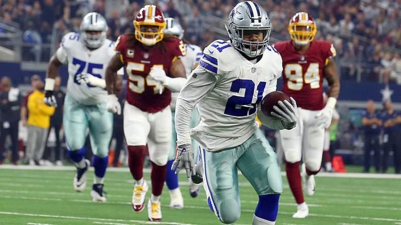 Cowboys RB Ezekiel Elliott vs. Redskins