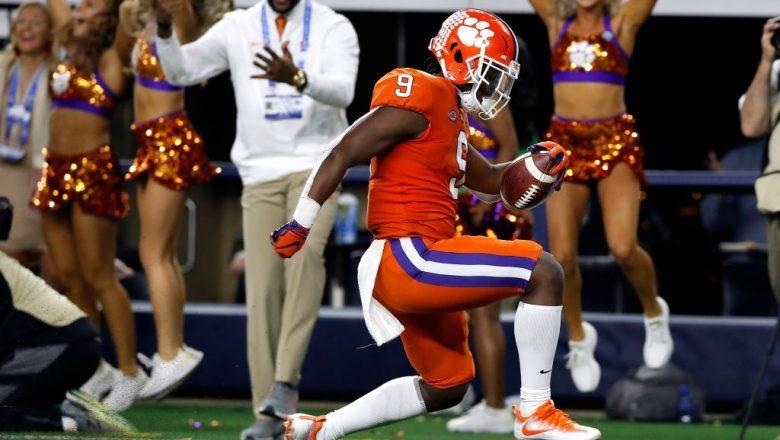 Travis Etienne 2020 NFL Draft Projections