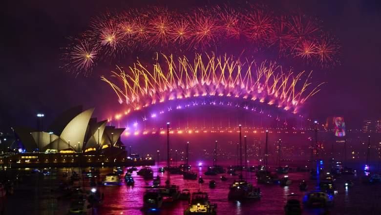 Sydney New Year's Fireworks