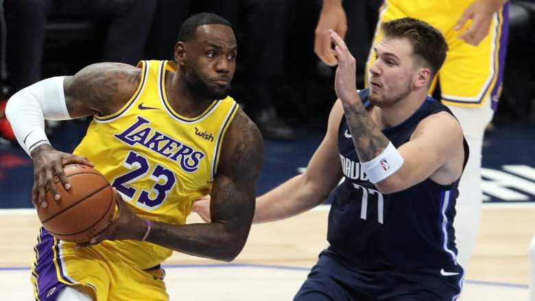 Luka Doncic vs LeBron James