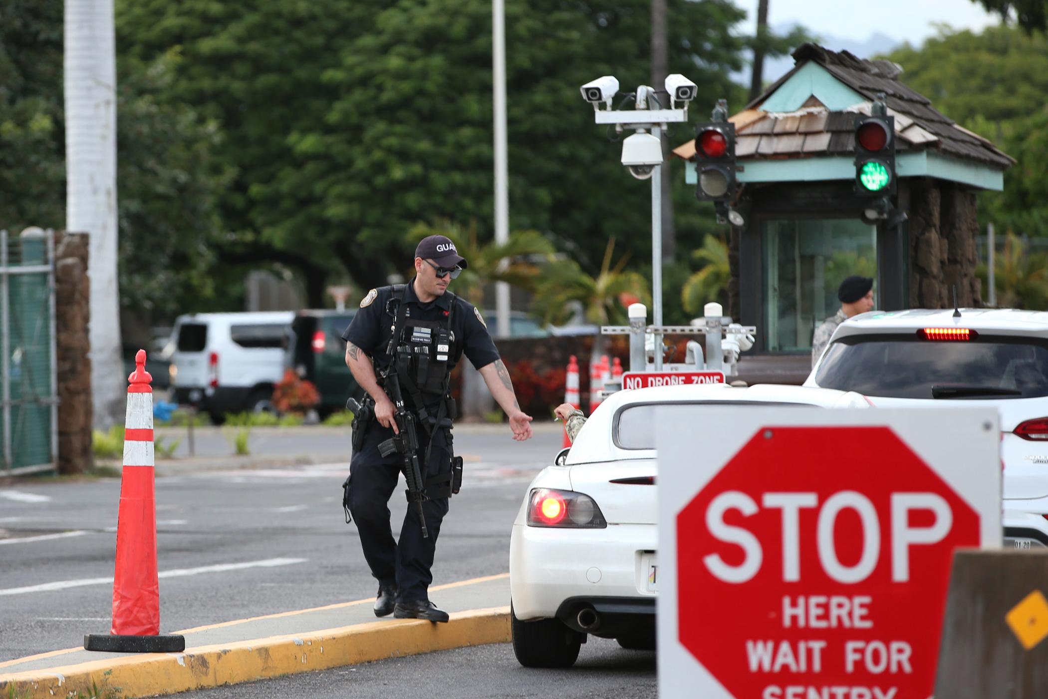 Pearl Harbor suspect