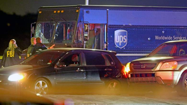 ups hijacking shootout chase florida video