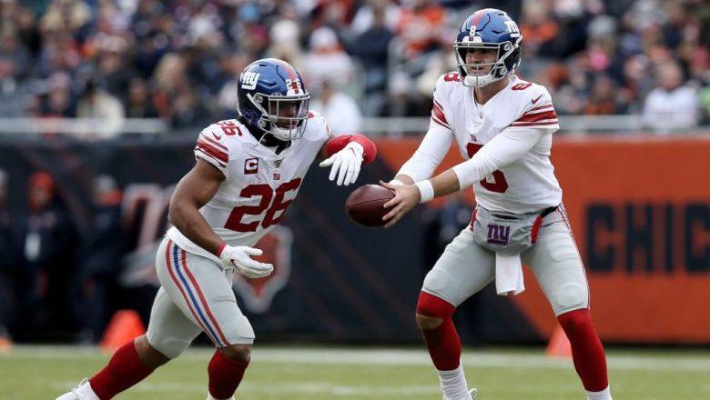 Daniel Jones & Saquon Barkley NFL FedEx Week 17 Players of the Week