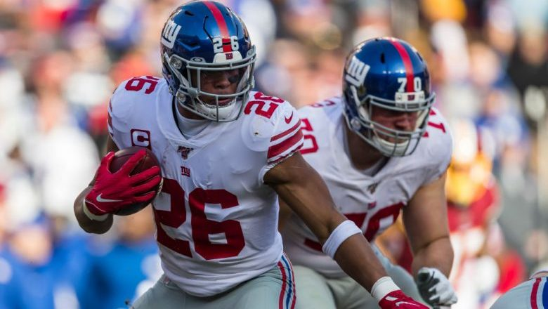 Adrian Peterson compares Saquon Barkley to Barry Sanders