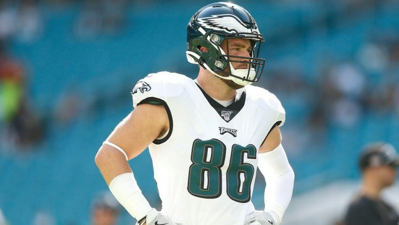 Zach Ertz Fantasy Football TE Rankings Week 17