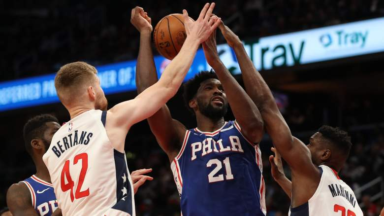 Sixers' Joel Embiid, double-teamed as usual