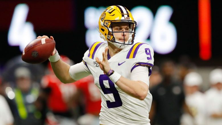 Joe Burrow 2020 NFL Mock Draft: College Football Playoff Edition