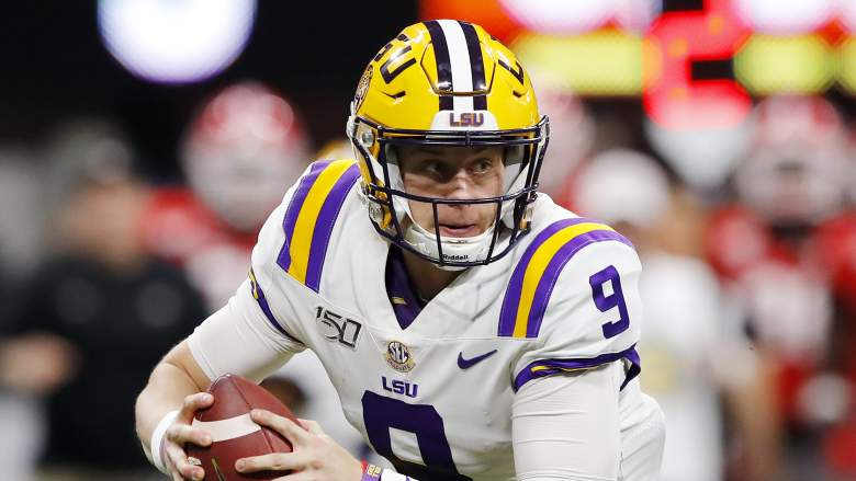 Joe Burrow Mock Draft