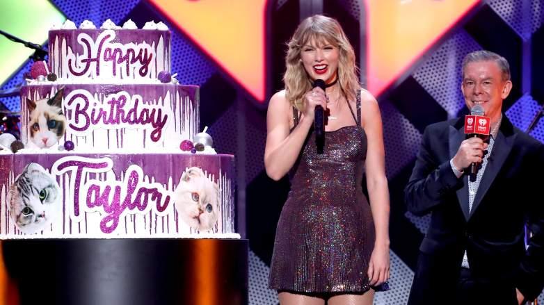 Taylor Swift birthday cake iHeartRadio Jingle Ball