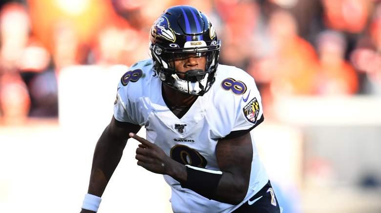 Titans vs. Ravens Spread