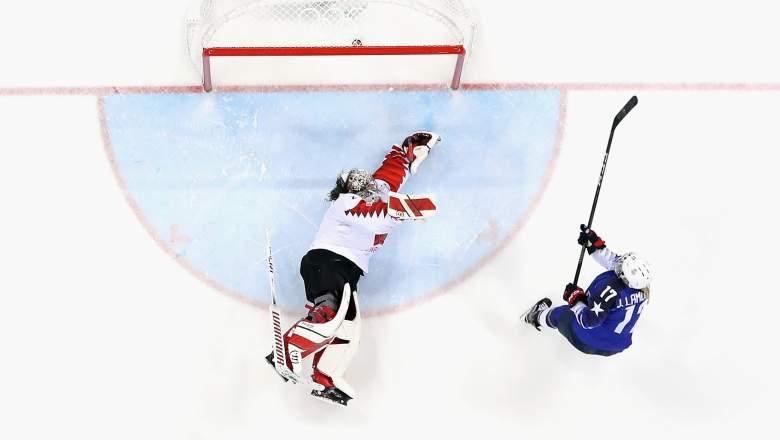 USA Canada Women's Hockey Watch