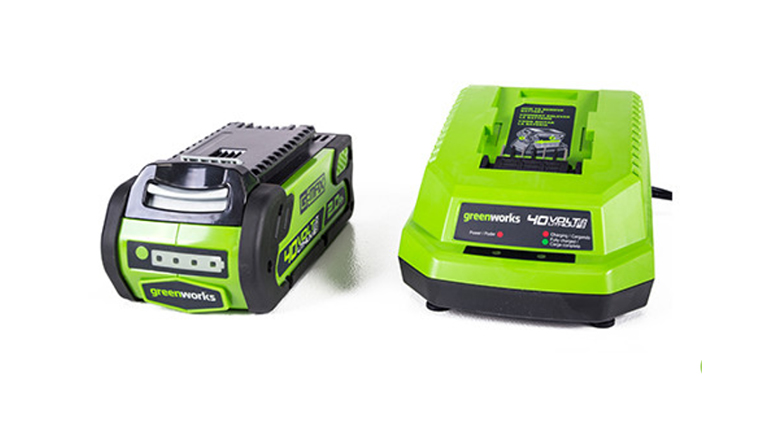 40 volt lithium ion battery and charger