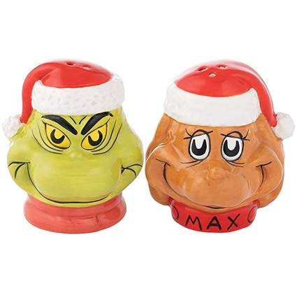 grinch and max salt and pepper set