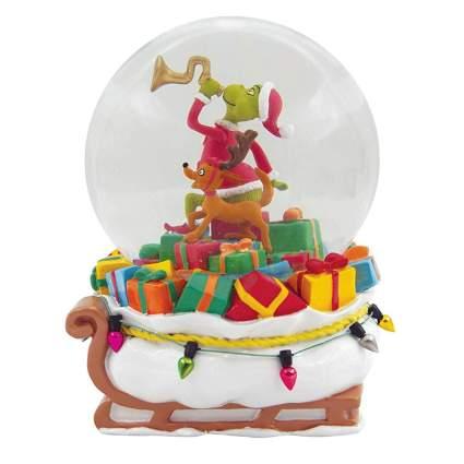grinch snow globe