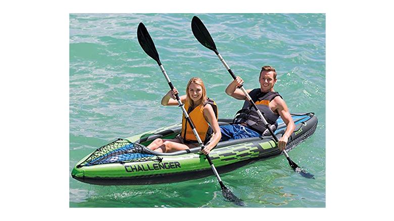 paddling people
