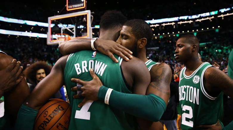 Jaylen Brown Kyrie Irving