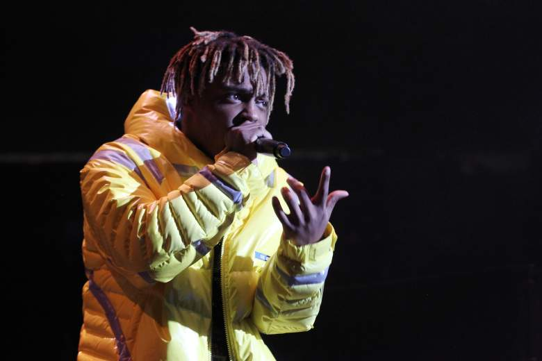 Juice Wrld during a 2018 performance.