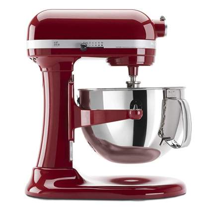 red kticheaid lift stand mixer