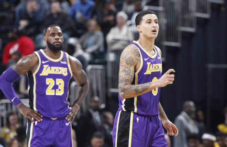 LeBron James, Kyle Kuzma