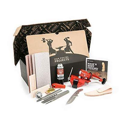Man Crates Knife Making Kit