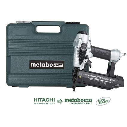 Nail gun with carrying case